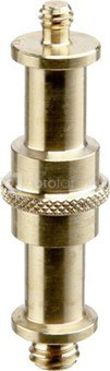 Manfrotto Adapter Spigot 16mm w. 1/4 and 3/8 thread 013