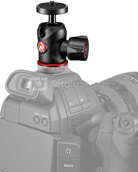 Manfrotto ball head MH492LCD-BH Micro + Cold Shoe