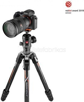 Manfrotto Befree GT Carbon Alpha MKBFRTC4GTA-BH
