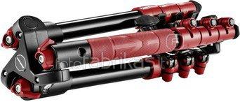 Manfrotto BeFree One Kit Aluminium red