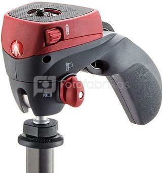 MANFROTTO COMPACT ACTION ALUMINIUM RED MKCOMPACTACN-RD