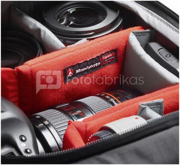 Manfrotto Pro Light Rucksack 3N1-26 für DSLR/CSC/C100