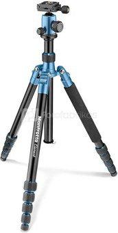 Manfrotto tripod Element Traveller MKELEB5BL-BH, blue