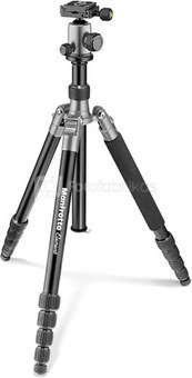 Manfrotto tripod Element Traveller MKELEB5GY-BH, grey