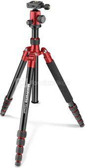 Manfrotto tripod Element Traveller MKELEB5RD-BH, red