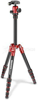 Manfrotto tripod Element Traveller MKELES5RD-BH, red