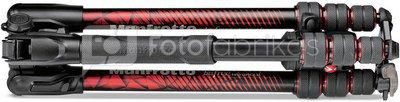 Manfrotto tripod kit Befree Advanced MKBFRTA4RD-BH, red