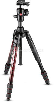 Manfrotto tripod kit Befree Advanced MKBFRTA4RD-BH, red