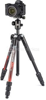 Manfrotto tripod kit Element MII MKELMII4RD-BH, red
