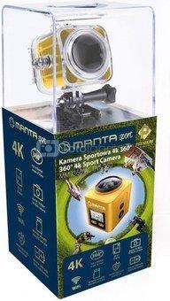Manta MM9360 360-Degree 4K Sport Camera