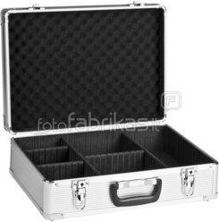 mantona Aluminium Foto Case Basic M silver