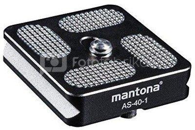 mantona AS-40-1 Schnellwechselplatte