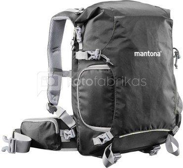 mantona ElementsPro 30 Outdoor Camera Backpack black