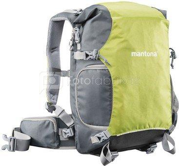 mantona ElementsPro 30 Outdoor Camera Backpack green