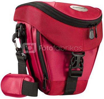 mantona Premium Holster Bag red