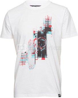 Marškinėliai Anaglyph - White L