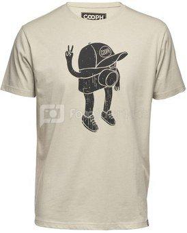 Marškinėliai Cooph Camboy L (smėlio)