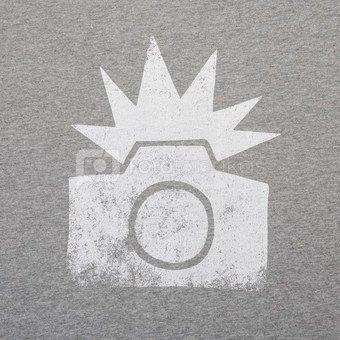 Marškinėliai Cooph Flash L (šviesiai pilka)