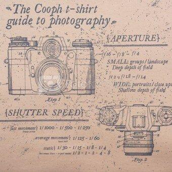 Marškinėliai Cooph Guide L (smėlio)