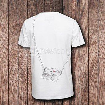 Marškinėliai Cooph Leicographer M (balta)
