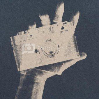 Marškinėliai Cooph Snapographer XXL (mėlyna)