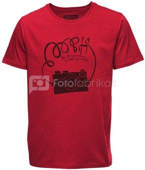 Marškinėliai Cooph Strap L (raudona)