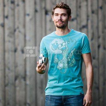 Marškinėliai COSMOGRAPHER - Turquoise L