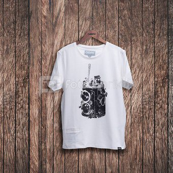 Marškinėliai FIDELBALL - Bright white M