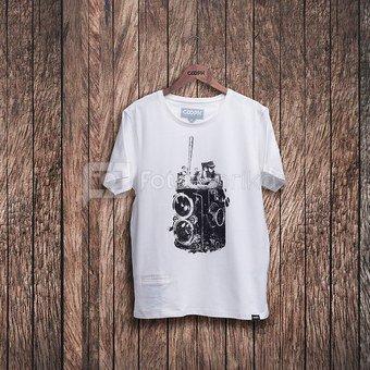 Marškinėliai FIDELBALL - Bright white S
