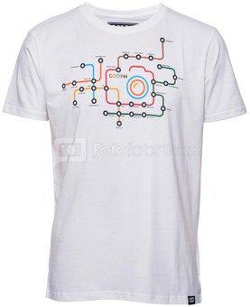 Marškinėliai METRO - White alyssium M