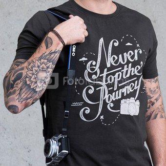 Marškinėliai Never Stop - Dark Military L