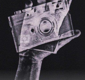 Marškinėliai su kišenėle Cooph Snapographer XL (juoda)