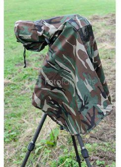 Matin Camouflage Cover Large for Digital SLR Camera M-7092