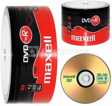 Maxell DVD-R 47 16x/50-Spindel