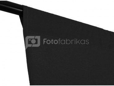 Medžiaginis fonas Cotton backfrop 3x3m Black