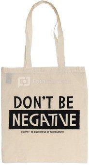 Medžiaginis maišelis Cooph Dont be (smėlio spalvos)