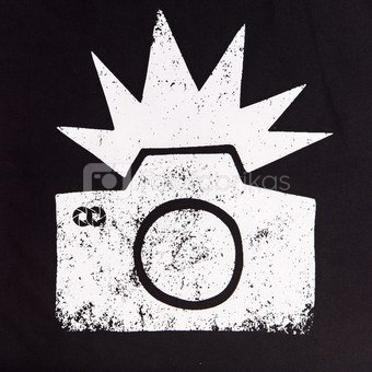 Medžiaginis maišelis Cooph Flash (juoda)