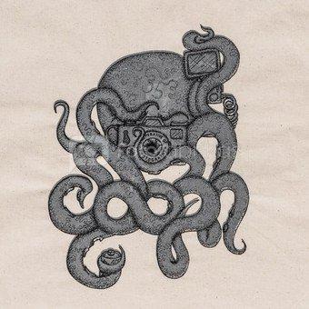 Medžiaginis maišelis Cooph Octograhper (smėlio spalvos)