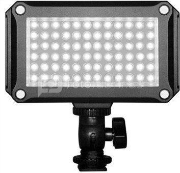 Metz Mecalight LED-480 with 72 high-CRI-LED's (colour rendering index CRI ? 85%)