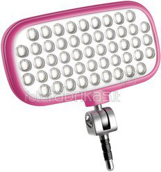Metz mecalight LED-72 smart pink