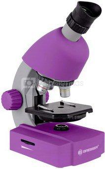 Bresser Junior Microscope 40x-640x Lilac
