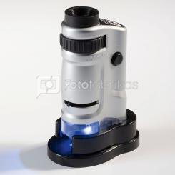Mikroskopas rankinis Leuchtturm 20x ir 40x