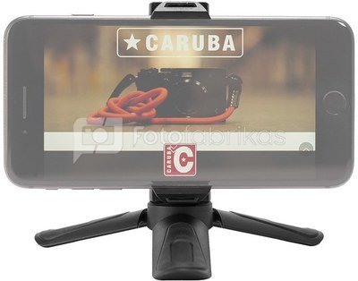Caruba Ministar18 ministatief met phoneholder Black