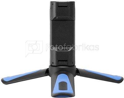 Caruba Ministar18 ministatief met phoneholder Blue