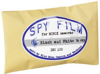 Minox SPY Film 100 8x11/36 B&W