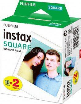 Fujifilm Fotoplokštelės Instax SQUARE 20vnt.