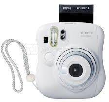 Fujifilm Instax Mini 25 (Baltas) + 10 Fotoplokštelių