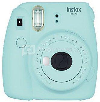 Fujifilm Instax Mini 9 (Žydras) + 10 Fotoplokštelių