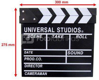 Movie clap Hollywood