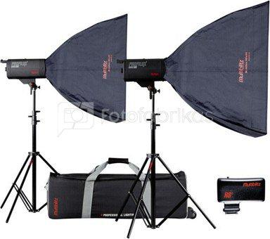 Multiblitz Profilux Eco 500 Premium-Kit